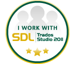 We use SDL Trados Studio 2011