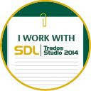 We use SDL Trados Studio 2014